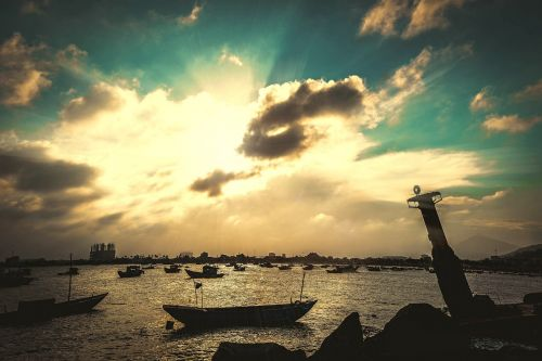 paplūdimys da nang,paplūdimys vietnam,saulėlydis paplūdimys vietnamese