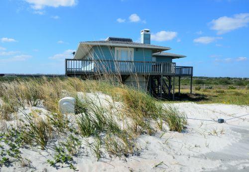 paplūdimys & nbsp, namo, papludimys, namas, paplūdimys & nbsp, priekyje, smėlis, kraštovaizdis, gamta, lauke, nekilnojamas & nbsp, turtas, florida, usa, atostogos, dangus, žemė, nuosavybė, paplūdimio namai