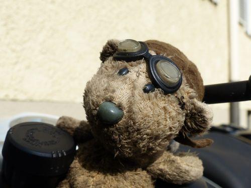 turėti,motociklas,akiniai,pašalinti prieš skrydį,ruda,vintage,vairuoti,smėlio spalvos,vairai,laimingas žavesys,talismanas,mažas,saldus
