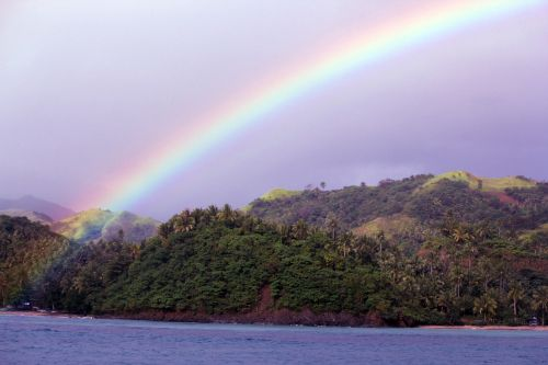 vaivorykštė & nbsp, dangus, spalvos, vaivorykštė, dangus, gamta, medžiai, žalias & nbsp, gamta, kalnas, fonas, kraštovaizdis, kitas, gražus vaivorykštė