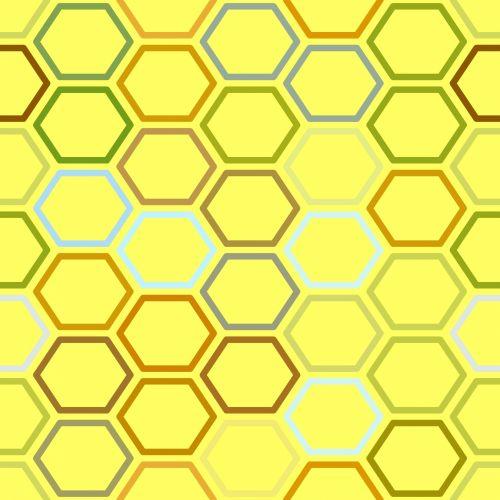 geltona, bičių, avilys, bitė & nbsp, avilys, modelis, plytelės, avilys, fonas, avilio modelis