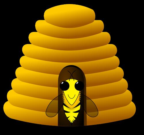 avilys,bitininkystė,medus,medus bitės,nemokama vektorinė grafika