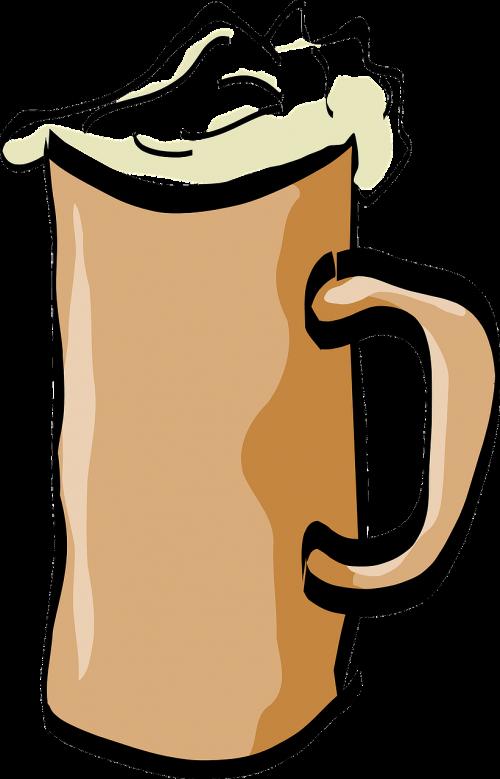 alus,puodelis,alkoholis,gerti,putos,skystas,putos,nemokama vektorinė grafika