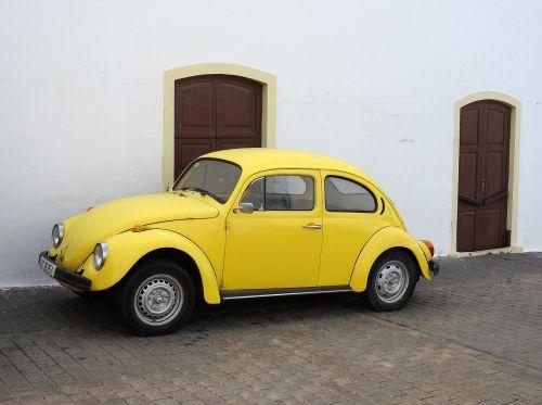 vabalas,vw,vw vabalas,Volkswagen,klasikinis,senas,geltonas vabalas,oldtimer