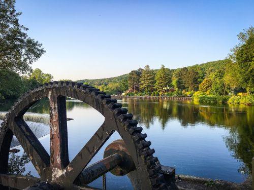 Belper,Derbyshire,piko rajonas,upė,malūnas,piko,rajonas,Anglija,kaimas,upių sodai,sodai,turizmas