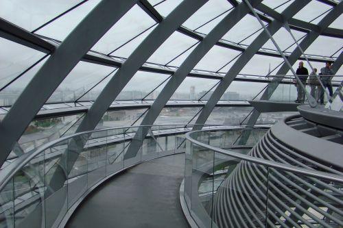 Berlynas,Bundestag,kupolas,kapitalas,stiklo kupolas,Berlyno vyriausybė,architektūra,vyriausybės pastatai