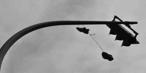 Berlynas,avalynė,shoelaces,priklausyti,miestas,šviesoforas
