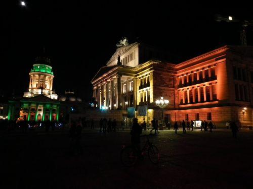Berlynas naktį,Berlynas,šviesos miestas