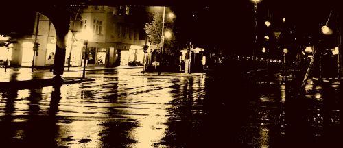 gatvė, automobiliai, naktis, žibintai, gatvė & nbsp, gyvenimas, miestas, Berlynas, eismas, juoda ir balta, miesto, Berlyno gatve naktį