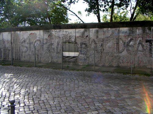 Berlin Siena, Fragmentas, Berlynas, Vokietija, Ddr, Vokietijos Federalinė Respublika, Rytinė Vokietija