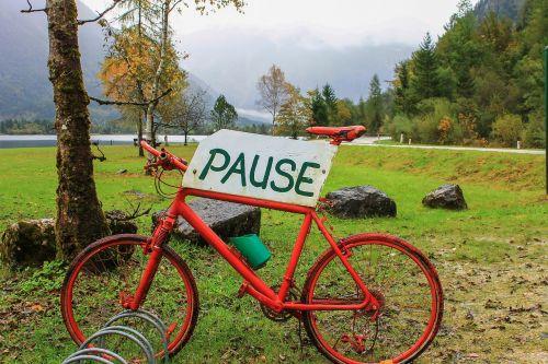 dviratis,turizmas,Hallstadt,austria,Alpės,ekskursija,poilsis,poilsis,šventė,nuotaika,laisvalaikis,poilsio