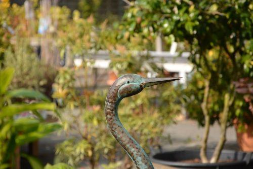 paukštis metalas,gamta,dekoravimo jardin,dovanų pasiūlymas,flora