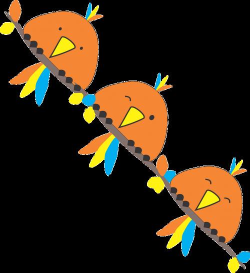 paukščiai,jėgos linija,sėdi,krūvos,juokinga,eilutė,wink,nemokama vektorinė grafika