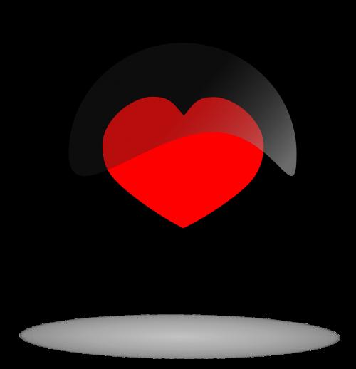 juodas mygtukas,mygtukas,širdies mygtukas,širdis,juoda,raudona