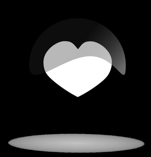 juodas mygtukas,mygtukas,širdies mygtukas,širdis,juoda,balta