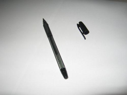rašiklis, juoda, juodas & nbsp, rašiklis, dangtelis, padengti, rašiklis & nbsp, dangtelis, rašiklis & nbsp, viršelis, juodas rašiklis ir dangtelis