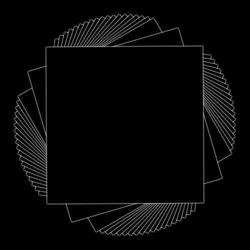 kvadratas, kartojasi, pasukta, besiūliai, juoda, linija, piešimas, geometrinis, kampai, aštrus, linijos, kompensuoti, juodas kvadratas, pakartojantis fonas
