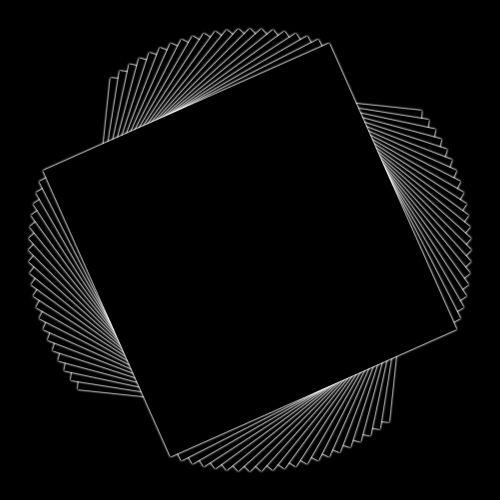 kvadratas, kartojasi, pasukta, besiūliai, juoda, linija, piešimas, geometrinis, kampai, aštrus, linijos, juodas kvadratas, pakartojantis fonas