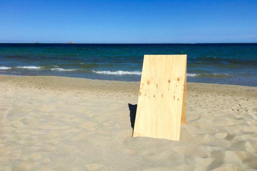 papludimys, tuščias, lenta, copyspace, tuščia, vandenynas, jūra, ženklas, dangus, vasara, atostogos, vanduo, mediena, medinis, tuščia plokštė paplūdimyje