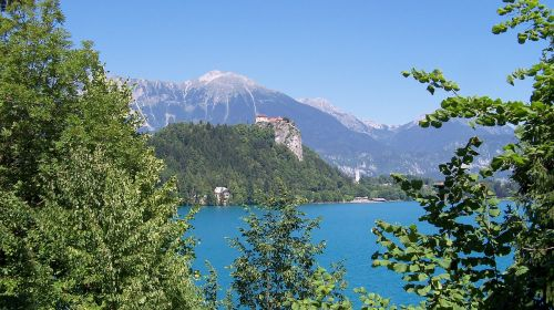 bled,ežeras,slovenia