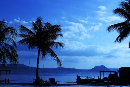 gamta, mėlyna & nbsp, gamta, kalnas, debesys, dangus, debesuota & nbsp, dangaus, fonas & nbsp, gamta, tapetai, vandenynas, jūra, papludimys, vanduo, mėlyna gamta 4