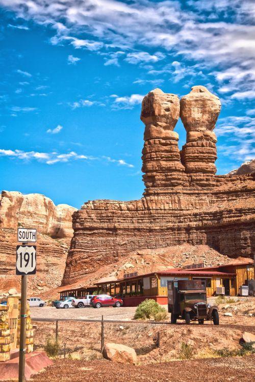blefas,Utah,usa,Navajo dvyniai,akmenys,oltimeris,Jungtinės Valstijos,kraštovaizdis,Rokas,kalnai,hdr,rieduliai,Navajo,akmeniniai bokštai,paminklas,aukštas,kietas,gamta