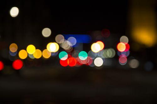 blur,Bokeh,žibintai,tamsi,naktis,vakaras,tamsa,miestas,apskritimai,atstumas,dėmesio,neryškus,twilight,dusk,dangus,Miestas,gatvė,apšviestas,miestas naktį,vaizdingas,naktinis miestas,spalva,spalvinga