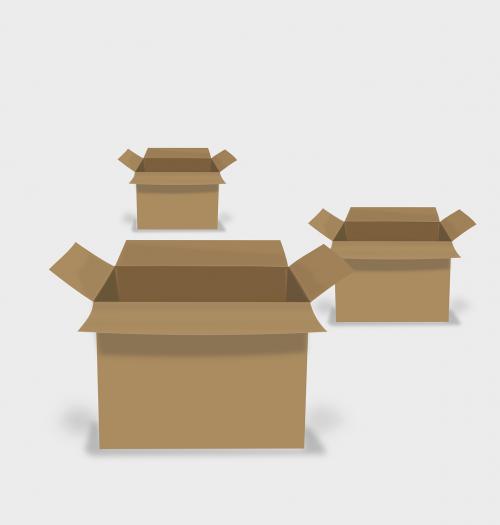 lenta,kartonas,dėžutė,dėžė,ruda,nemokama vektorinė grafika