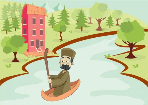 valtis,vyras,rio,medžiai,darbuotojai,žolė,laukas,Ceu,žmonės,žalias,raudona,namai,pastatas,vektorius,nemokama vektorinė grafika