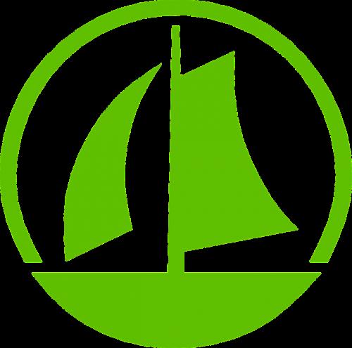 valtis,burinė valtis,burinė valtis,buriavimas,jūra,kelionė,atostogos,regata,laivų lenktynės,piktograma,burės,apskritas,mygtukas,sportas,simboliai,nemokama vektorinė grafika