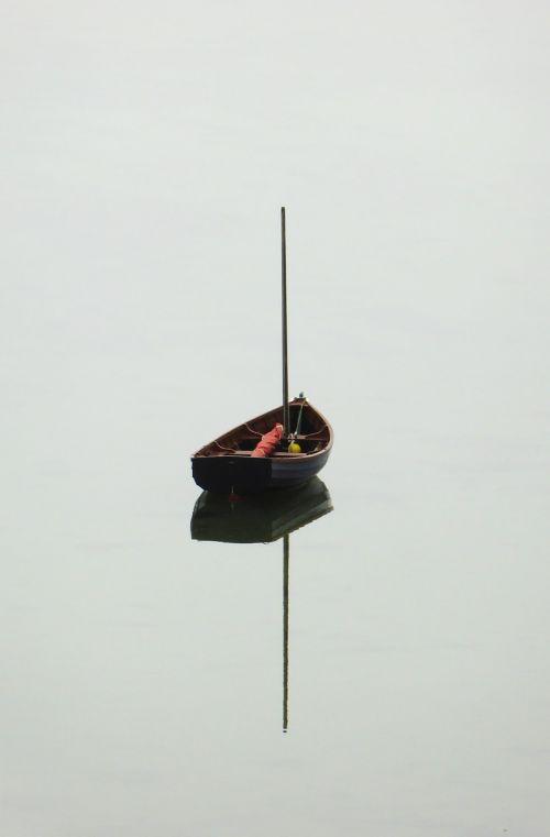 valtis,ežeras,atspindys,vanduo,ramus,ramus,ramus,stiebas,atostogos,Škotija,švartavimas,uostas,veidrodis,plaukiojimas,siluetas