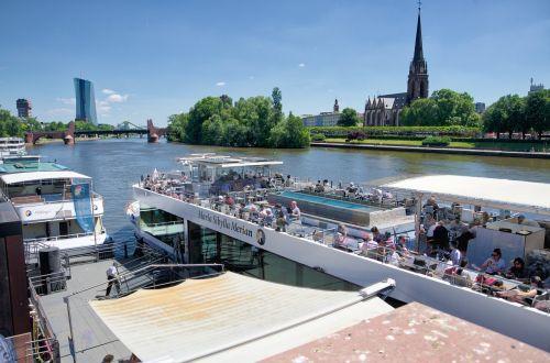 kelionė laivu,upė,pagrindinis,Frankfurtas,Vokietija,kelionė,šventė,vanduo,valtis,kelionė,poilsis