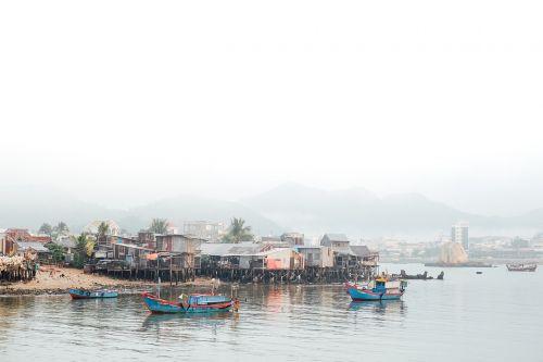 valtys,upė,kelionė,atogrąžų,turizmas,nameliai,nameliai,Žvejų kaimelis,kaimas
