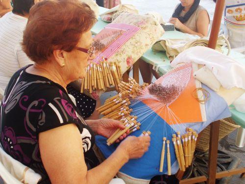 spenelių nėriniai,audimas,staklės,siūlės,kablys,adatos,menas,siuvimas,amatai,audiniai