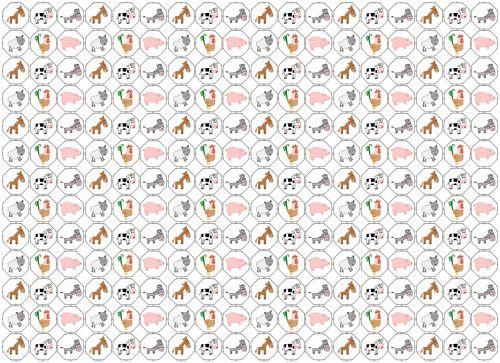 fonas, apdaila, ornamentu, spalva, kūrybingas, modelis, tapetai, iliustracija, vištiena, kiaulė, karvė, ūkio & nbsp, gyvūnai, ūkio gyvūnai