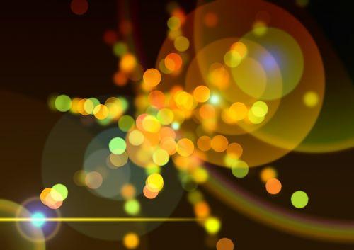 Bokeh,geltona,fonas,šviesa,ratas,taškai,abstraktus,refleksas,atspindys,veidrodis,lichtreflex