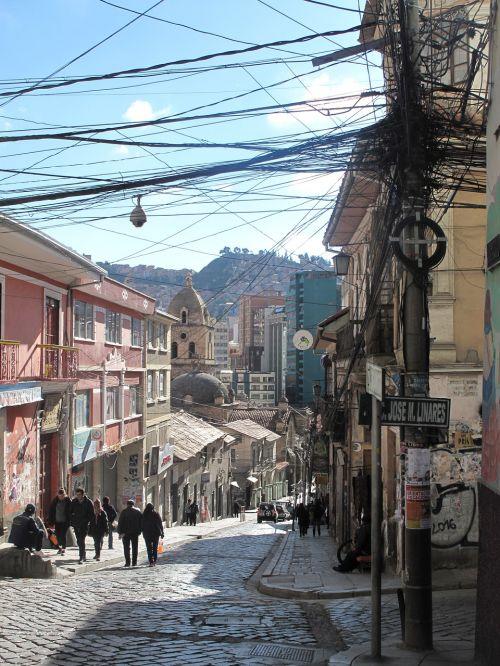 Bolivija,lapaz,miestas