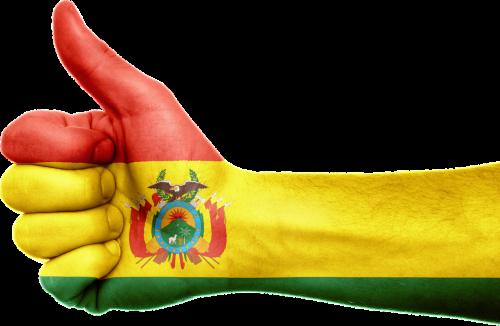 Bolivija,vėliava,ranka,nacionalinis,pirštai,patriotinis,patriotizmas,Bolivija,Pietų Amerika,gestas,Nykščiai aukštyn