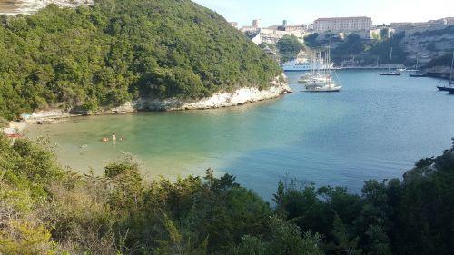 Bonifacio,jūra,Korsika