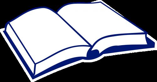knyga,atviras,atidarytas,vadovėlis,padengti,nemokama vektorinė grafika
