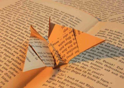 knyga,origami,popierius,sulankstytas,kartus,knygos puslapis