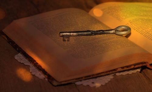 knyga,Raktas,senas,šrifto,saulės šviesa,saulės spindulys,apšvietimas