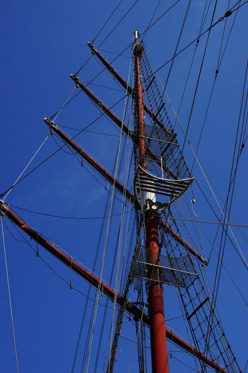 boot,burinė valtis,takelažas,laivas,valčių stiebai,stiebai,burių stiebai,lynai,romantika,senas,vandens sportas,buriuotojas,dangus,mėlynas,buriu,stiebas,rasa,jūrininkas,ežeras,vasara,didelis,objektas