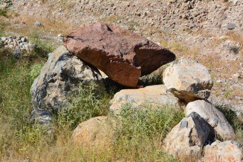 riedulys, akmenys, dykuma, texas, parkas, franklin, kalnai, valstybė, parkas, spalvinga, texas, nuotrauka, smėlis, kaktusas, augalas, dykuma, texas, parkas, takas, kelias, žalias, daugiametis, krūmai, boulder rocks desert texas park 2
