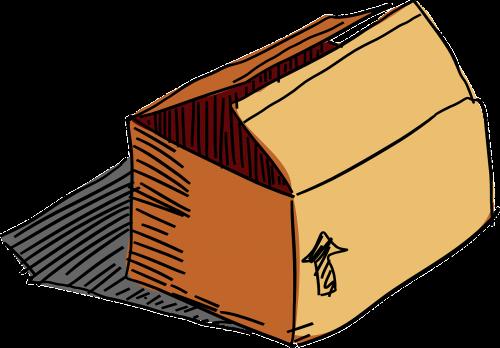 dėžė,dėžutė,paketas,ruda,paketas,siuntas,gabenimas,pašalinimas,nemokama vektorinė grafika