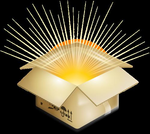 dėžė,siurprizas,sprogimas,paketas,siuntas,nemokama vektorinė grafika