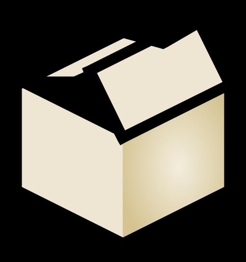 dėžė,pakavimas,atviras,dėžutė,pakavimas,laivyba,gabenimas,nemokama vektorinė grafika