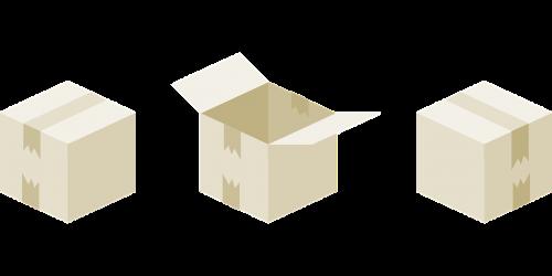 dėžė,Kartoninė dėžutė,kartonas,atviras,bin,paketai,pakavimas,pristatymas,laivyba,paketas,nemokama vektorinė grafika