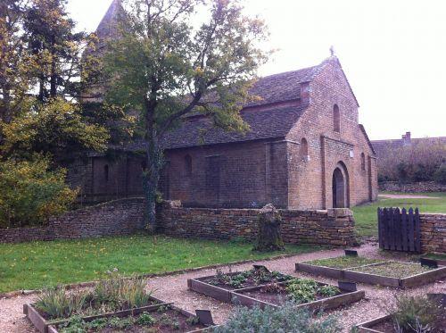 Brancion, Burgundija, bažnyčia