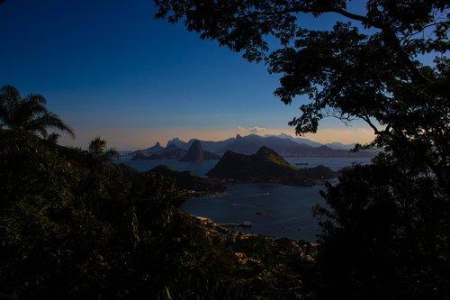 Brazilija, upė, nuo, sausis, Guanabara